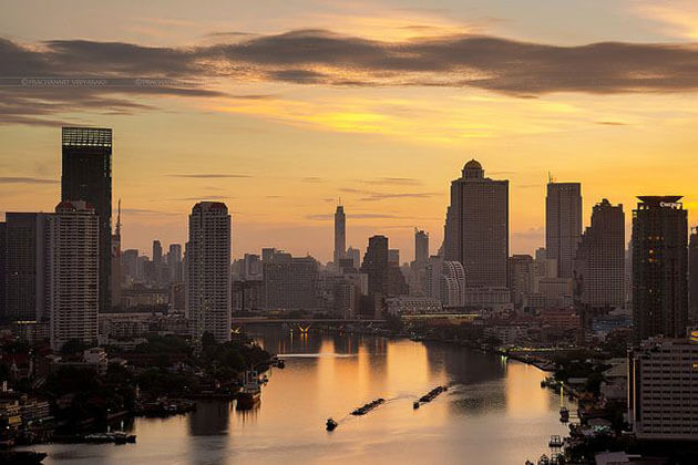 Bangkok in the early morning