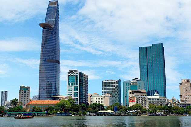 Bitexco Financial Tower in Saigon