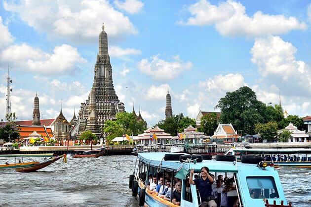 Boat Trip on Chao Phraya River, Thailand