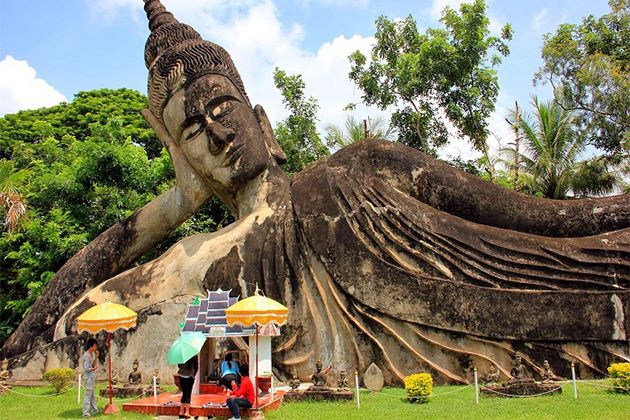 Buddha Park, Laos School Trip