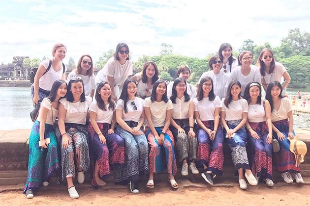 Cambodia School Trips
