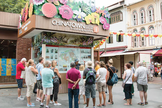 China town - best destination in Singapore school tour