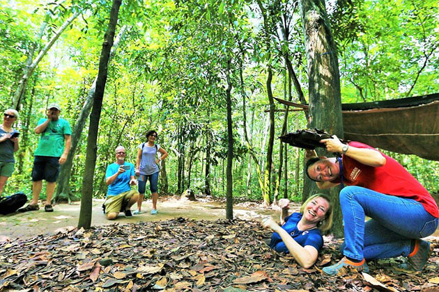 Cu Chi Tunnels Discovery