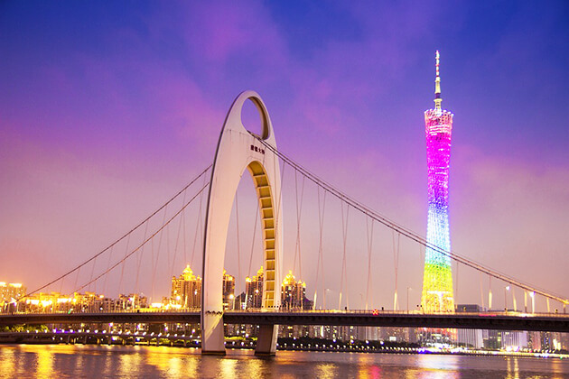 Discover Canton Tower in Guangzhou