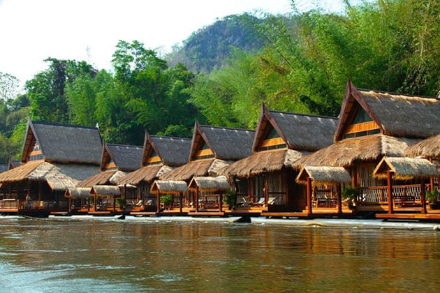 Discover Floating House in Thailand