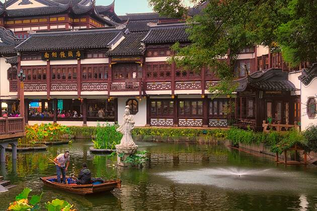 Discover Yu Garden from China school tour