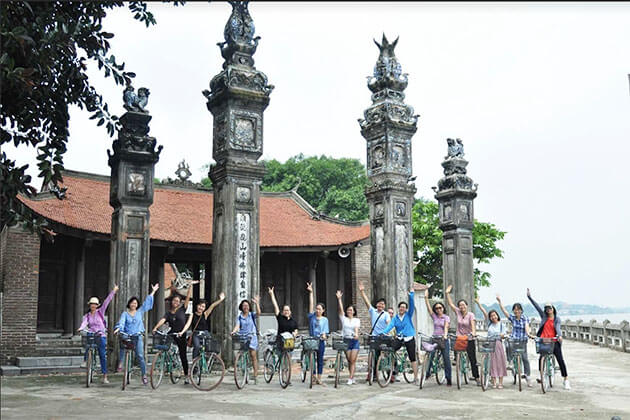 Dong Ngac Cultural Village with Bike Tour