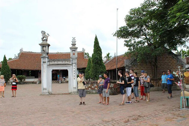 Duong Lam ancient village - one of the destinations in Vietnam school tour