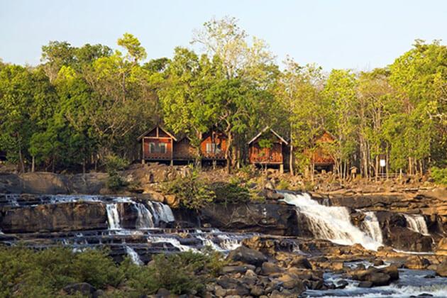 Explore Tad Lo Water Park in Laos