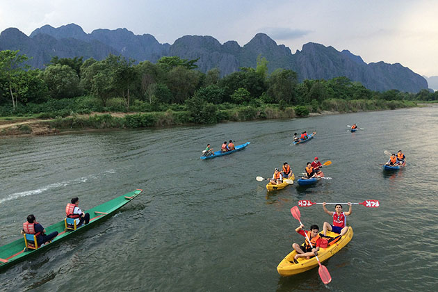 Explore Vang Vieng in Laos School Trip