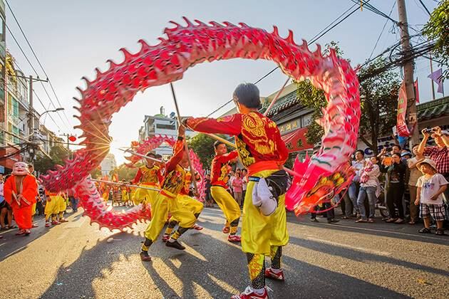 Festival at this Tet season
