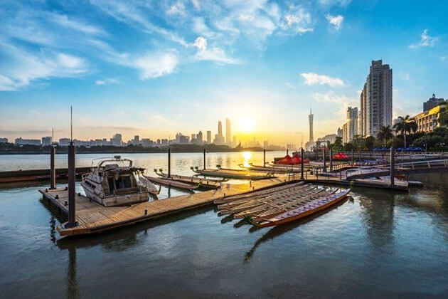 Guangzhou in the early morning