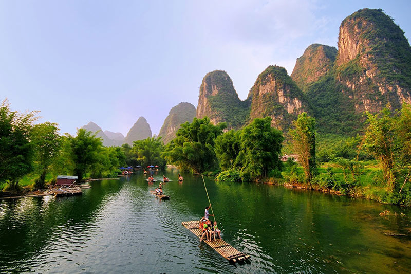 Guilin Exploration School Trip