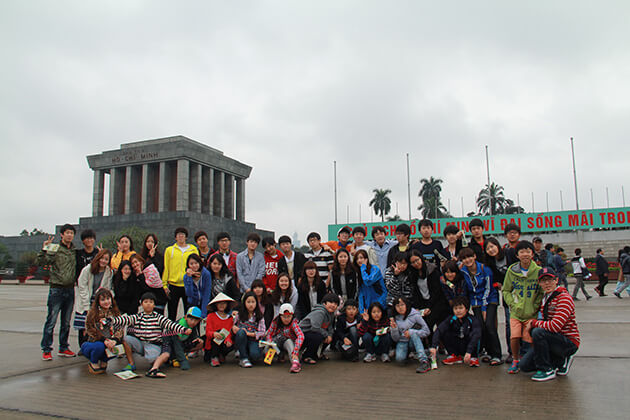 Hanoi - best place for students to Vietnam School Tour