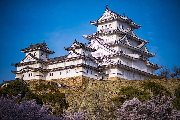 Himeji Castle in Japan School Trip