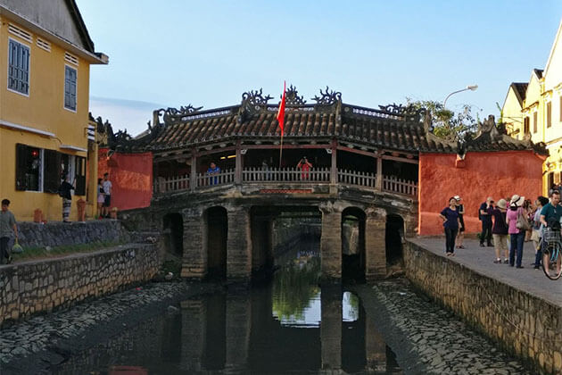 Japanese Covered Bridge- Hoi An from Vietnam school trip