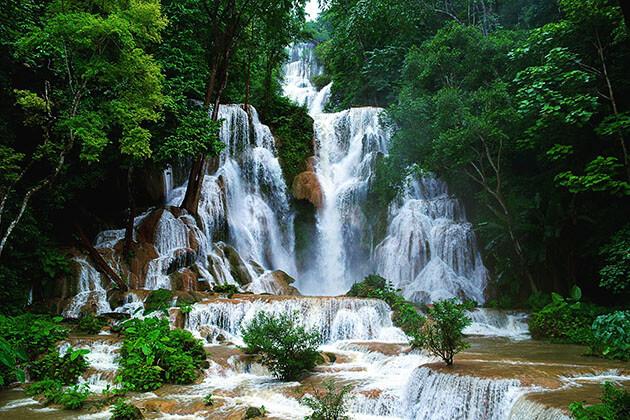 Khouangsi Waterfall in Laos