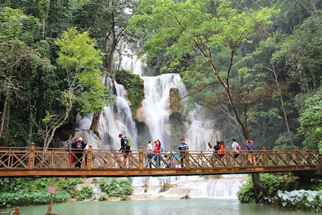 Khouangsi Waterfall in Laos