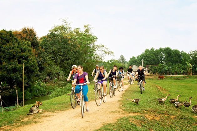 Mai Chau Biking in Educational Tour