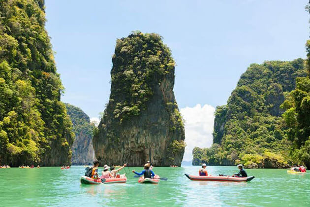 Phang Nga Bay destination in school tour to Thailand