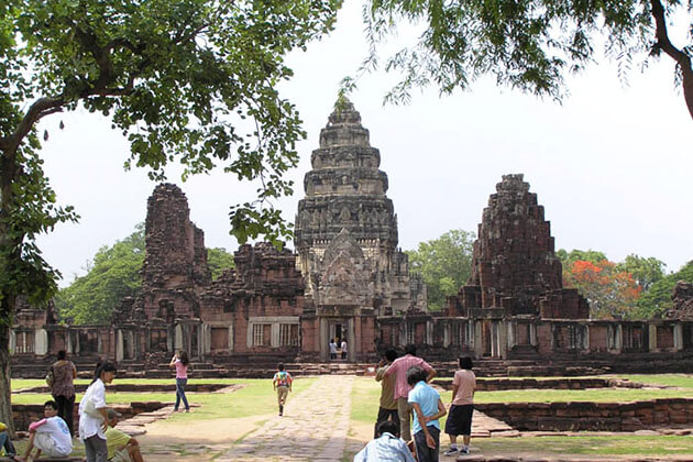 Phi Mai Historical Park in Thailand