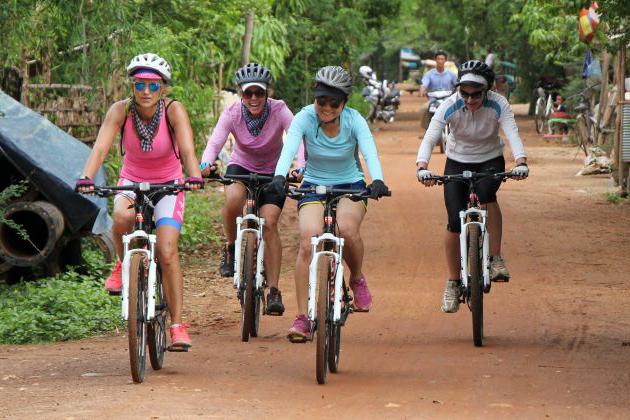 Phnom Penh biking trip