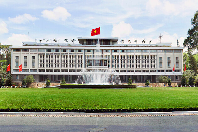 Reunification Palace - best attraction in Vietnam school trip
