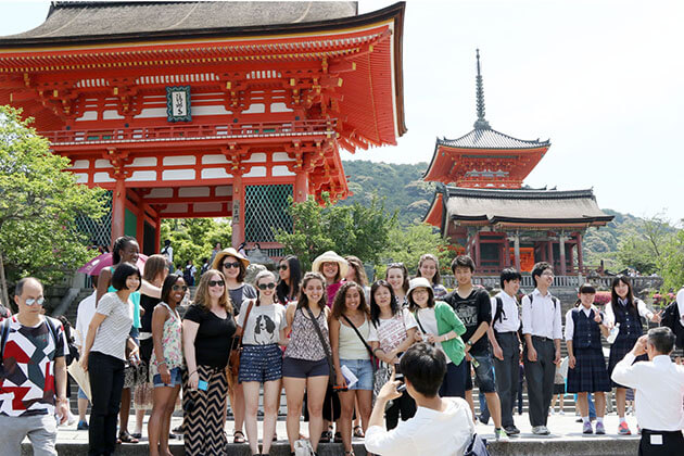 Safe destination in Japan school trip for students