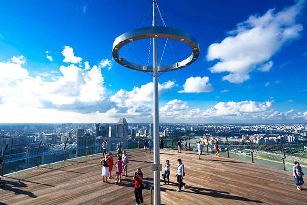 Sands SkyPark Observation Deck in Singapore
