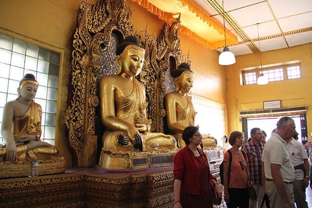 Shwedagon-Pagoda in Myanmar