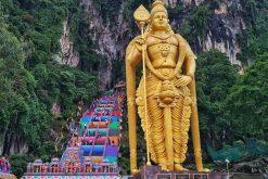 Singapore field trip pay a visit Batu Caves