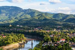 Spectacular view of Luang Prabang, Laos