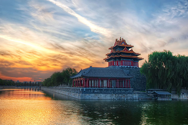 Stunning view of Beijing