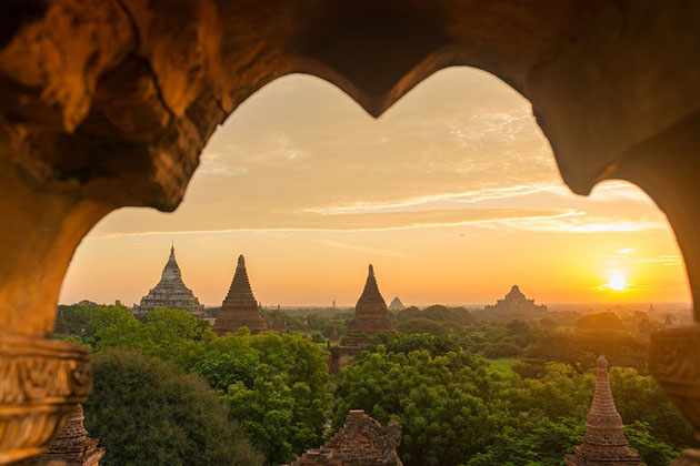 Suitable time to visit Myanmar Student tour