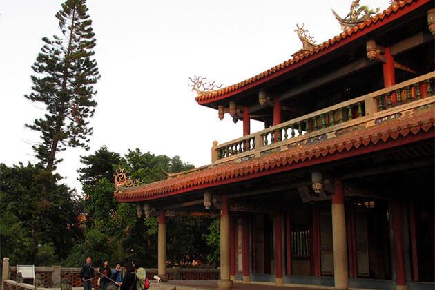 Tainan exploration in Taiwan school trip
