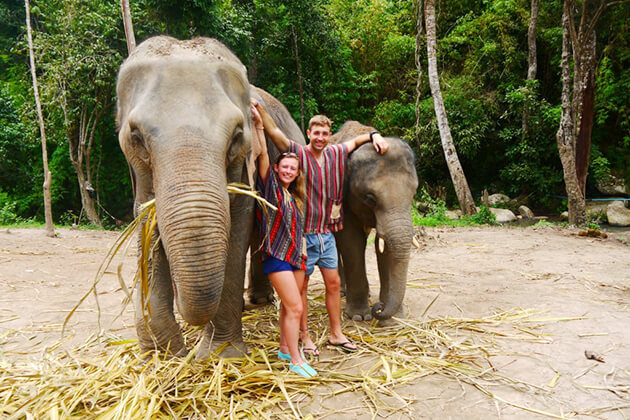 Thailand school tour explore Elephant sanctuary