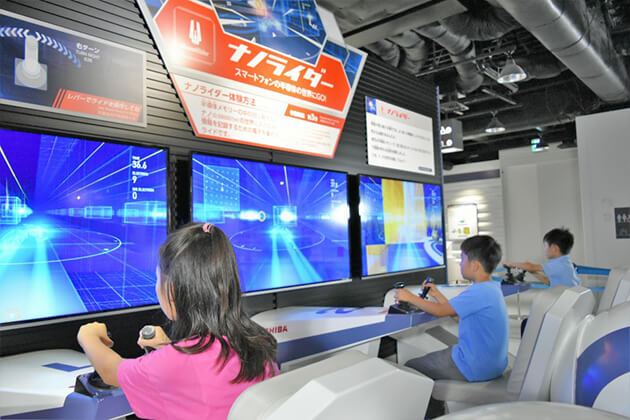 Toshiba Science Museum exploration in Japan School tour package