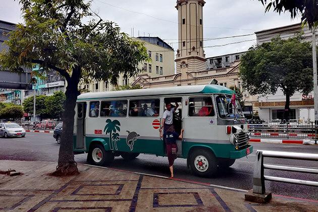 Transportation in Myanmar School Trip