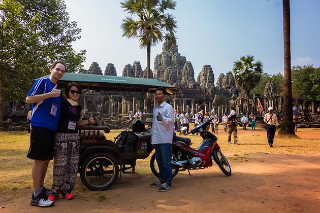 Tuk-tuk experience in Siem Reap