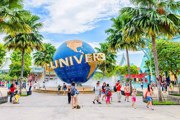 Universal studios is an ideal destination in Singapore school tour