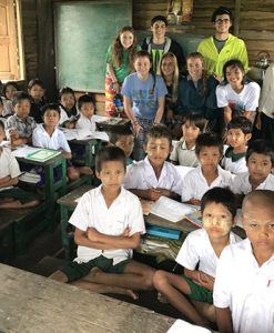 Visit disabled and orphaned children in Myanmar