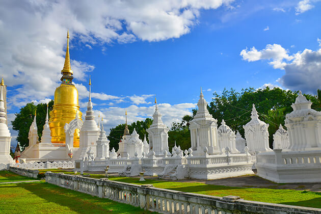 Wat Suan Dok in Chang Mai