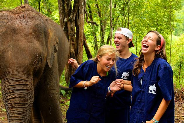 What Elephants Visits Brings for Thailand School Tours