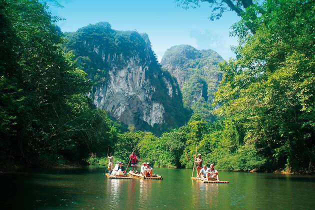explore Khao Sok River from Thailand school tour
