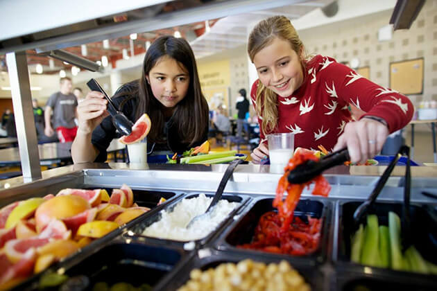 food plan for students in educational school tour