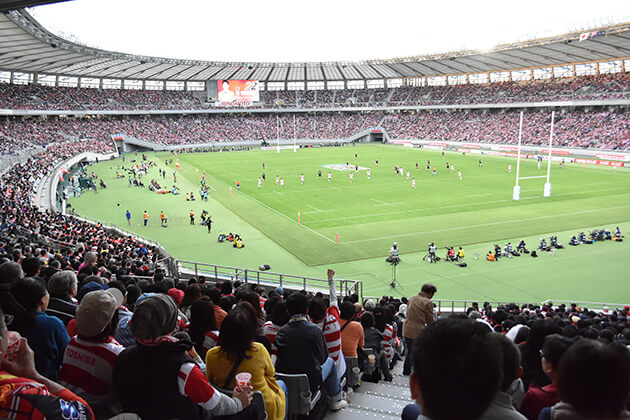 join Ajinomoto Stadium in Japan school trip