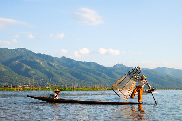 local people in Inle Lake