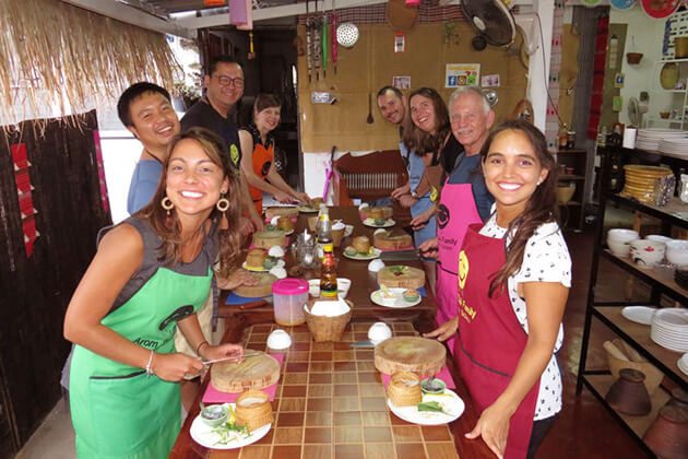 school tour to Thailand visit Cooking Classes at Doi Saket