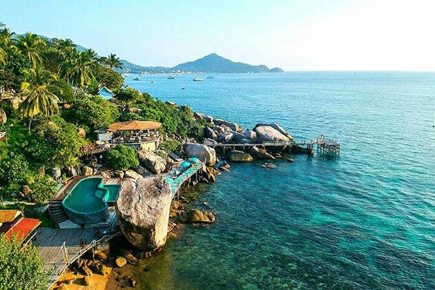 stunning view of Koh Tao, Thailand