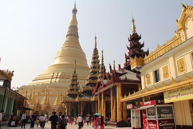 visit Shwedagon-Pagoda in Myanmar school trip